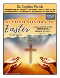 2nd Sunday of Easter